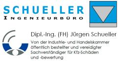 Dipl.-Ing. Jürgen Schueller, Unfallgutachten, Öffentlich bestellter Gutachter, Unfallgutachten, München, Sachverständiger München